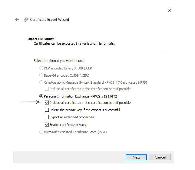 Creating a local PFX copy of App Service Certificate - App Service Blog