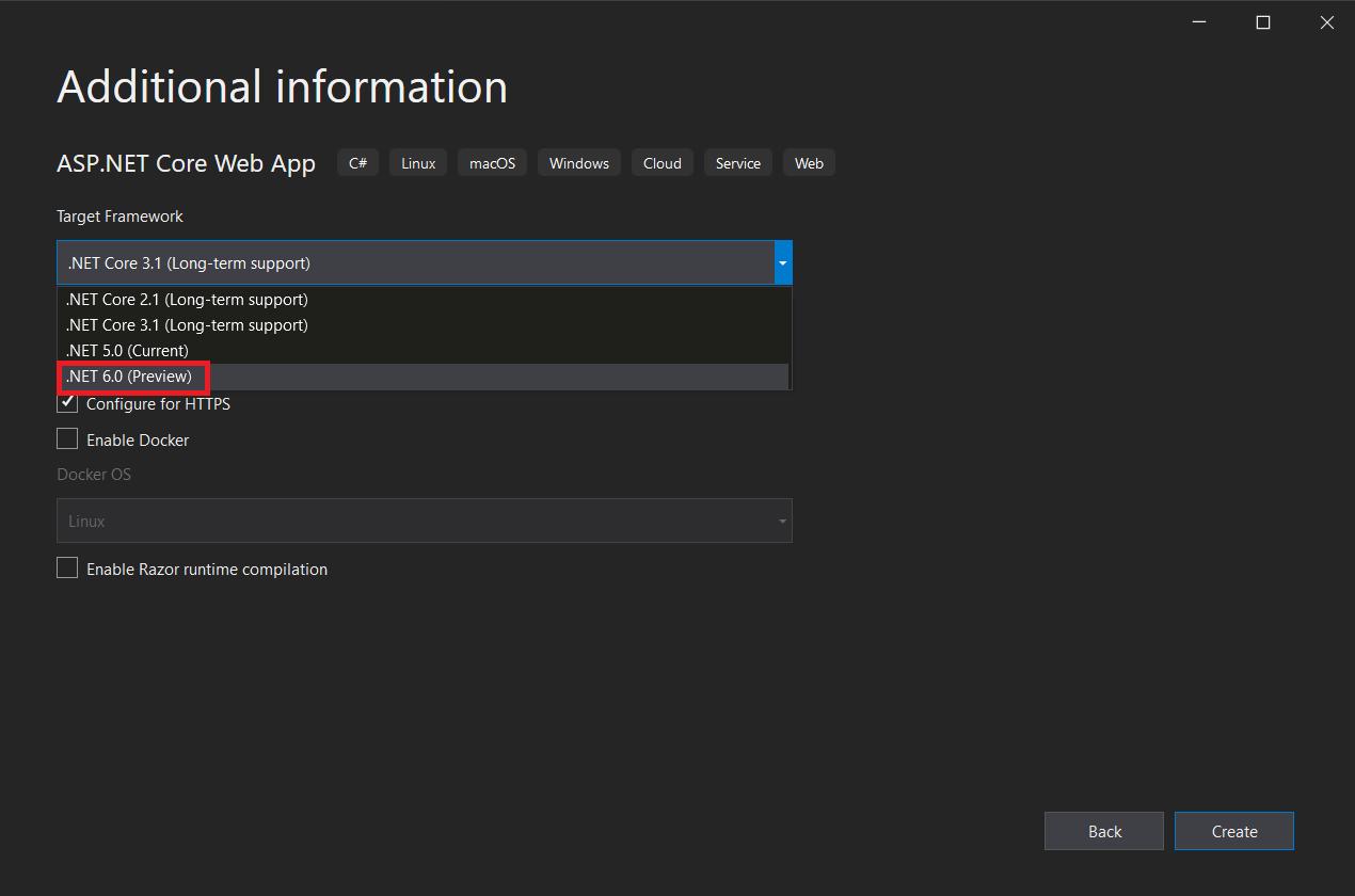 Running .NET 20 Preview on App Service   Azure App Service