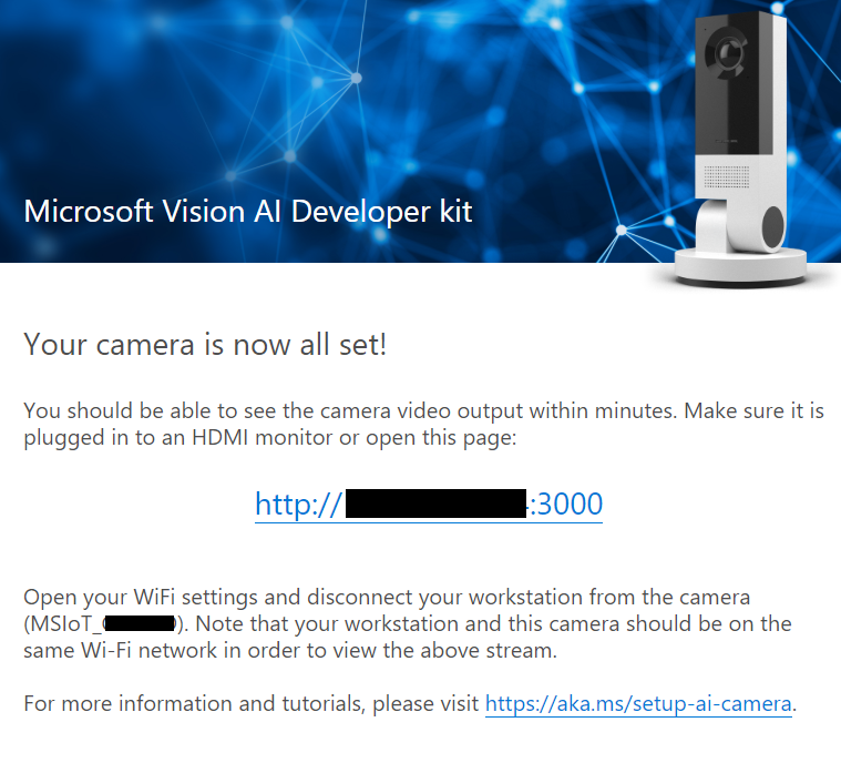 Quick Start - Vision AI DevKit