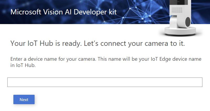 Setup the Vision AI DevKit camera - Vision AI DevKit